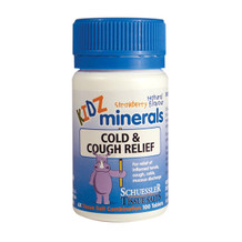 Schuessler Tissue Salts Kidz Minerals Cold & Cough Relief