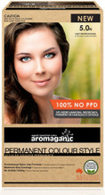 Aromaganic Organic Based Hair Colour 5.0N Light Brown/Natural