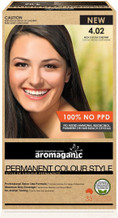 Aromaganic Organic Based Hair Colour 4.02 Brown/Extra Chocolate