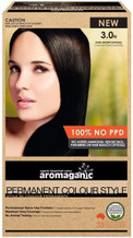 Aromaganic Organic Based Hair Colour 3.0N Dark Brown/Natural