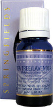 Springfields Pure Essential Oil - Tea Tree/Lavender