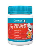 Caruso's Natural Health Kids Calm and Behaviour 75g