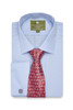 Heritage Business Blue - folded with tie