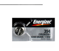 Energizer 394/380-SR936 Silver Oxide Button Battery 1.55V - 100 Pack + FREE SHIPPING!