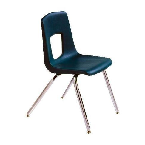 plastic seat stack chair
