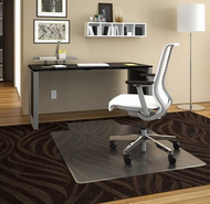 Deflecto CM14113COM  SuperMat Lipped Chairmat 36 x 48