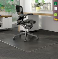 Deflecto CM13443FCOM  DuraMat Rectangle Chairmat 46 x 60