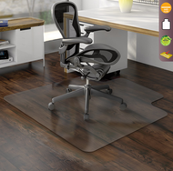 Deflecto CM2E232COM EconoMat Lipped Chairmat 45 x 53