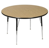 Scholar Craft FS849RD48 Round Thermofuse Melamine Activity Table 48 inch