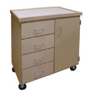 Hann AC-137M Mobile Art Storage Cabinet 36x24