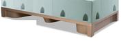 Norix Furniture ATN102 Attenda Floor Mount Bed Riser