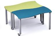 Russwood PT-ALP-270C Palettte Alpha Table 27 Inch Height