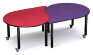 Russwood PT-ORB-270C Palettte Orbit Table 27 Inch Height