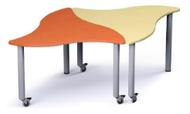 Russwood PT-STEL-270C Palettte Stella Table 27 Inch Height