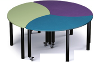Russwood PT-FLO-270C Palettte Flora Table 27 Inch Height