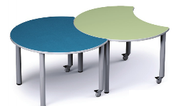 Russwood PT-ECL-270C Palettte Eclipse Table 27 Inch Height