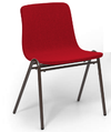 Rapids Chair 272-W-UPH3 Harper A-Frame Upholstered Chair 18 Inch High