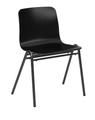 Grand Rapids Chair 272-W Harper A-Frame Wood Seat and Steel Frame Chair 18 Inch High