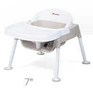 "Foundations 4600247 Secure Sitter Premier Adjustable Feeding Chair at 7"" height"