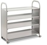 Gratnells SSET0644 Callero Plus Flat Shelf Cart