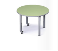"Russwood PT-42RD-250C Round Table 25"" Fixed Height"