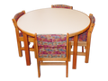 Library Table Round MediaTechnologies B0042T