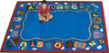 Joy Carpets 1429-D Reading Train Rug 7 ft 8 in x 10 ft 9 in
