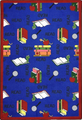 Joy Carpets 1419-B Bookworm Rug 3 ft 10 in x 5 ft 4 in