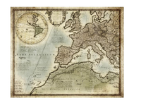 Antique map of the Roman Empire I