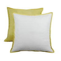 Caltha Cream Euro Pillow