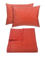 Nirvana Coral Coverlet Set- Queen