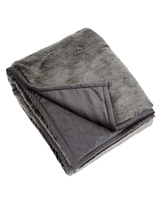 Perla Dark Grey Throw