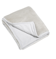 Perla Silver Grey Throw