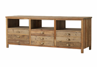 Elegant Reclaimed TV Console 68&quot;