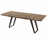 Industrial Reclaimed Dining Table 85""