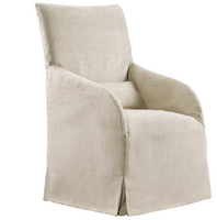 Amelia Slip Skirt Armchair