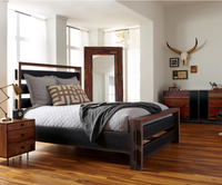 Nash Steel King Size Platform Bed