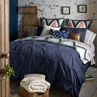 Harper Navy Duvet Sets