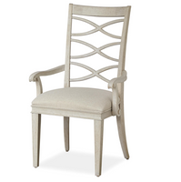 California Rustic Oak X-Back Dining Arm Chair Sale