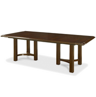 Sonoma Vintage Brown Extending Dining Table 108""