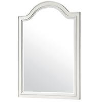Allison Beach Cottage White Dresser Mirror