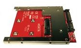 "MF-168m-7H (mSATA mini SSD as 7mm 2.5"" SATA Drive)"