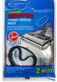 Vacuum Hoover Power Nozzle Flat Orig Belts 2/Pk 40201045