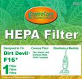 Royal/DD F16 HEPA Vacuum Filter 950