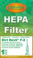 Royal/DD F2 HEPA Vacuum Filter 929