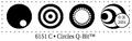 Judikins Stamps Circles Q-Bit