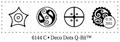 Judikins Stamps Deco Dots Q-Bit