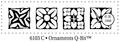 Judikins Stamps Ornaments Q-Bit