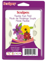 Sculpey® Push Mold-Flowers & Leaves