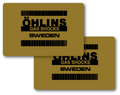 Ohlins Twin-Shock Reservoir Decals